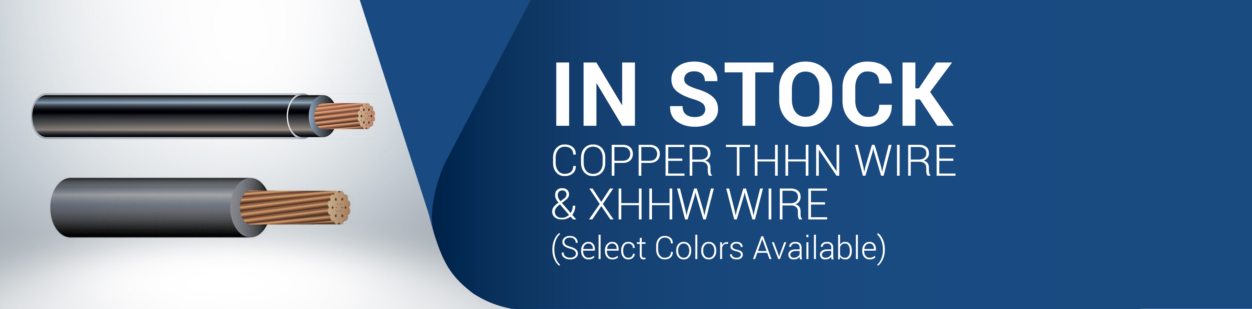 Copper THHN & XHHW Wire Available in Colors